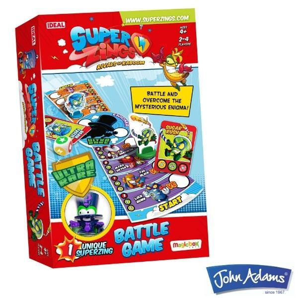 Win a SuperZings Battle Game