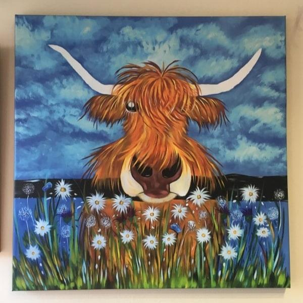 Win a Quirky Cow Print