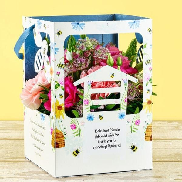 Win Bee Hive Beauty by Flowercard